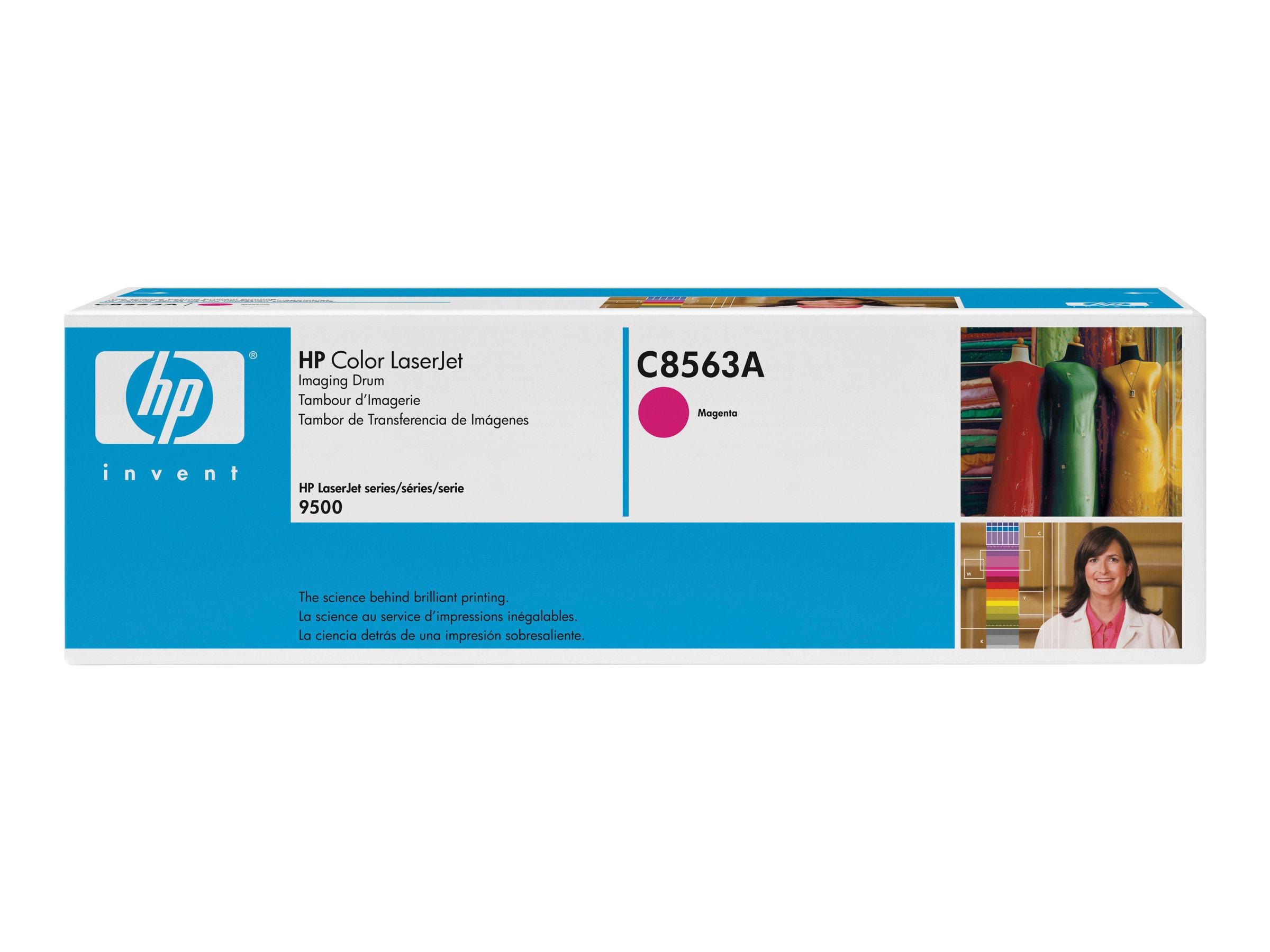 HP 822A - Magenta - Original - Trommel-Kit - für Color LaserJet 9500gp, 9500hdn, 9500mfp, 9500n