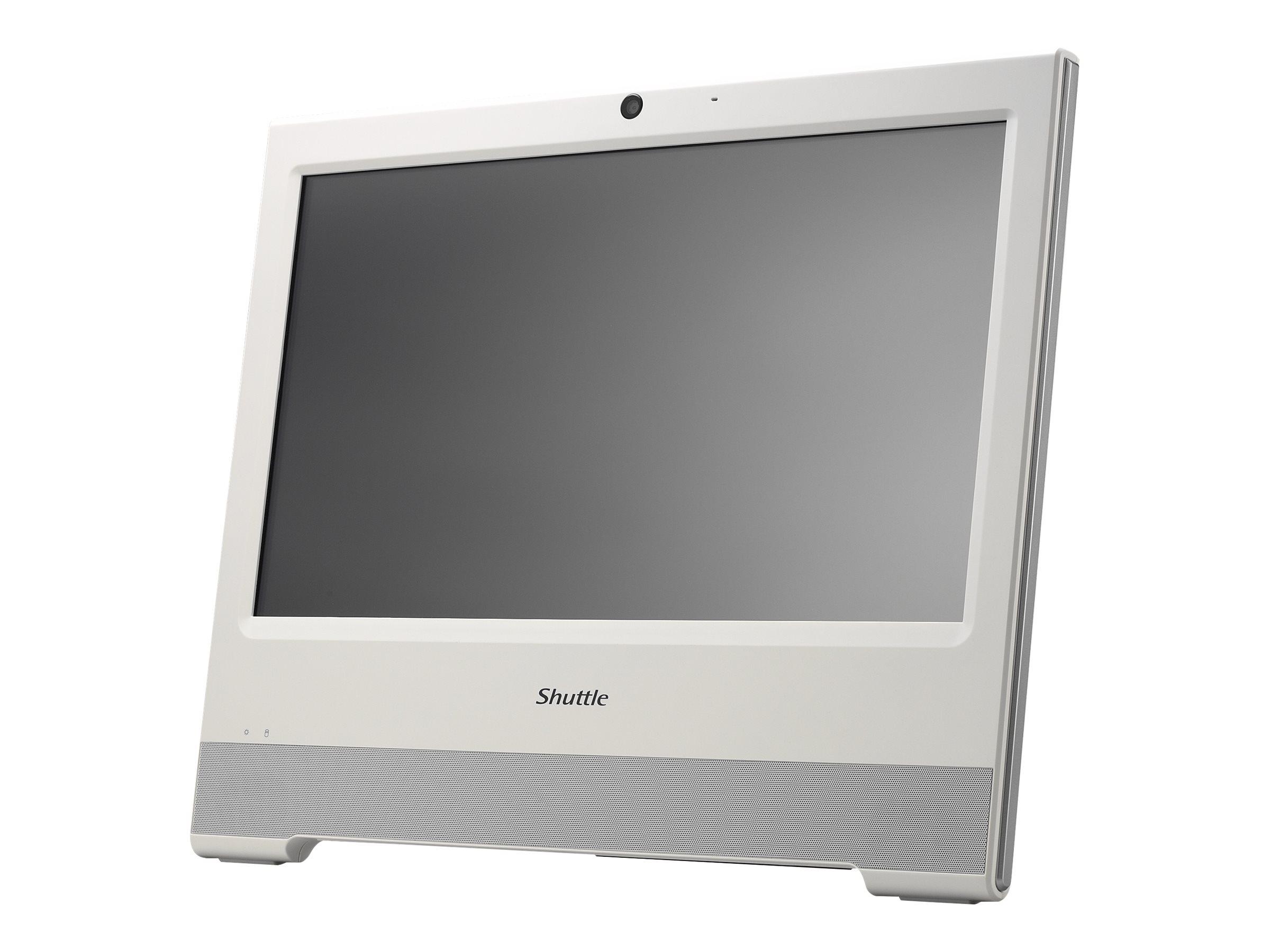 Shuttle XPC X 5060XA - All-in-One (Komplettlösung) - 1 x Celeron 3865U / 1.8 GHz ULV - RAM 4 GB - HDD 500 GB - HD Graphics 610