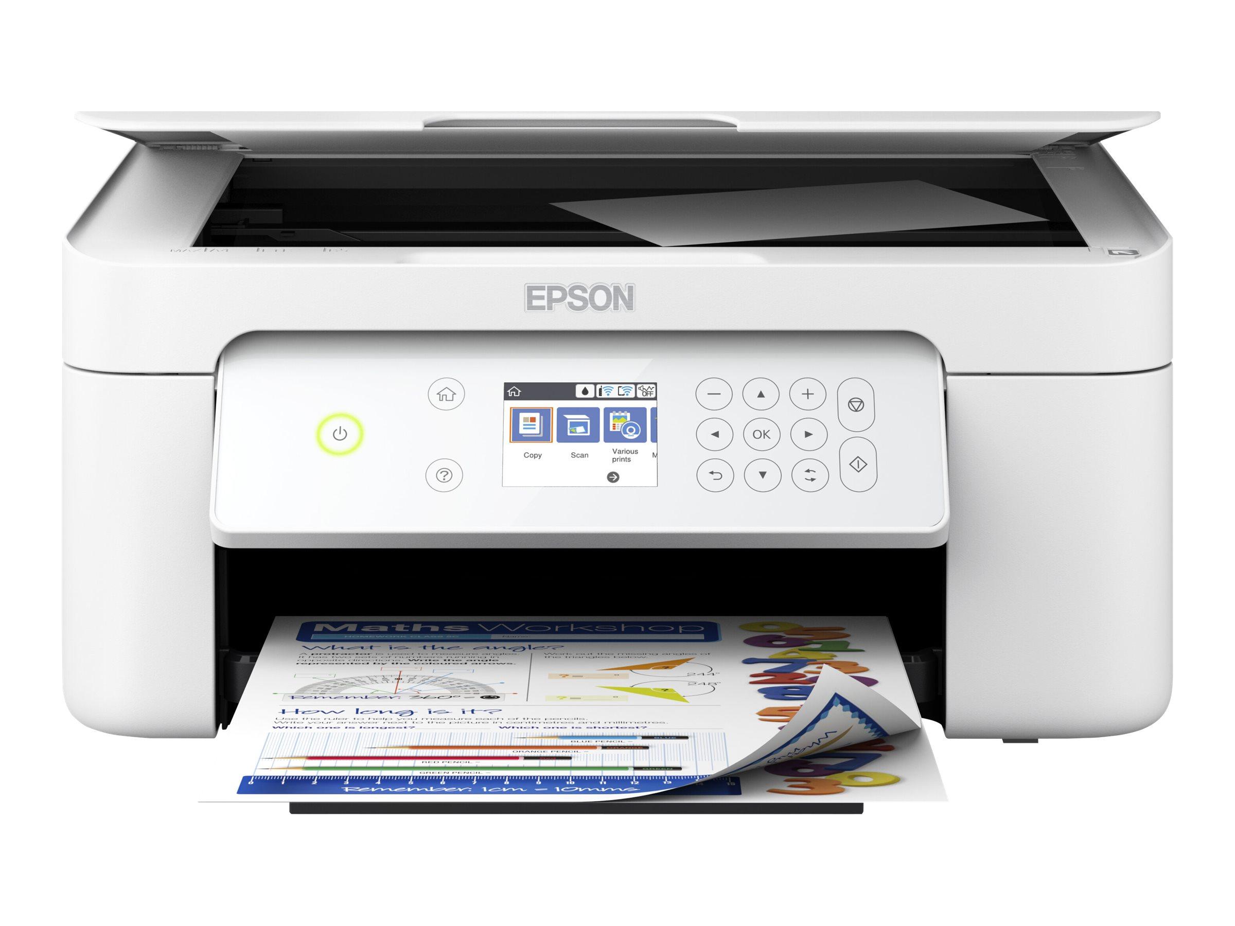 Epson Expression Home - Multifunktionsdrucker - Farbe - Tintenstrahl - A4/Legal (Medien) - bis zu 33 Seiten/Min. (Drucken)