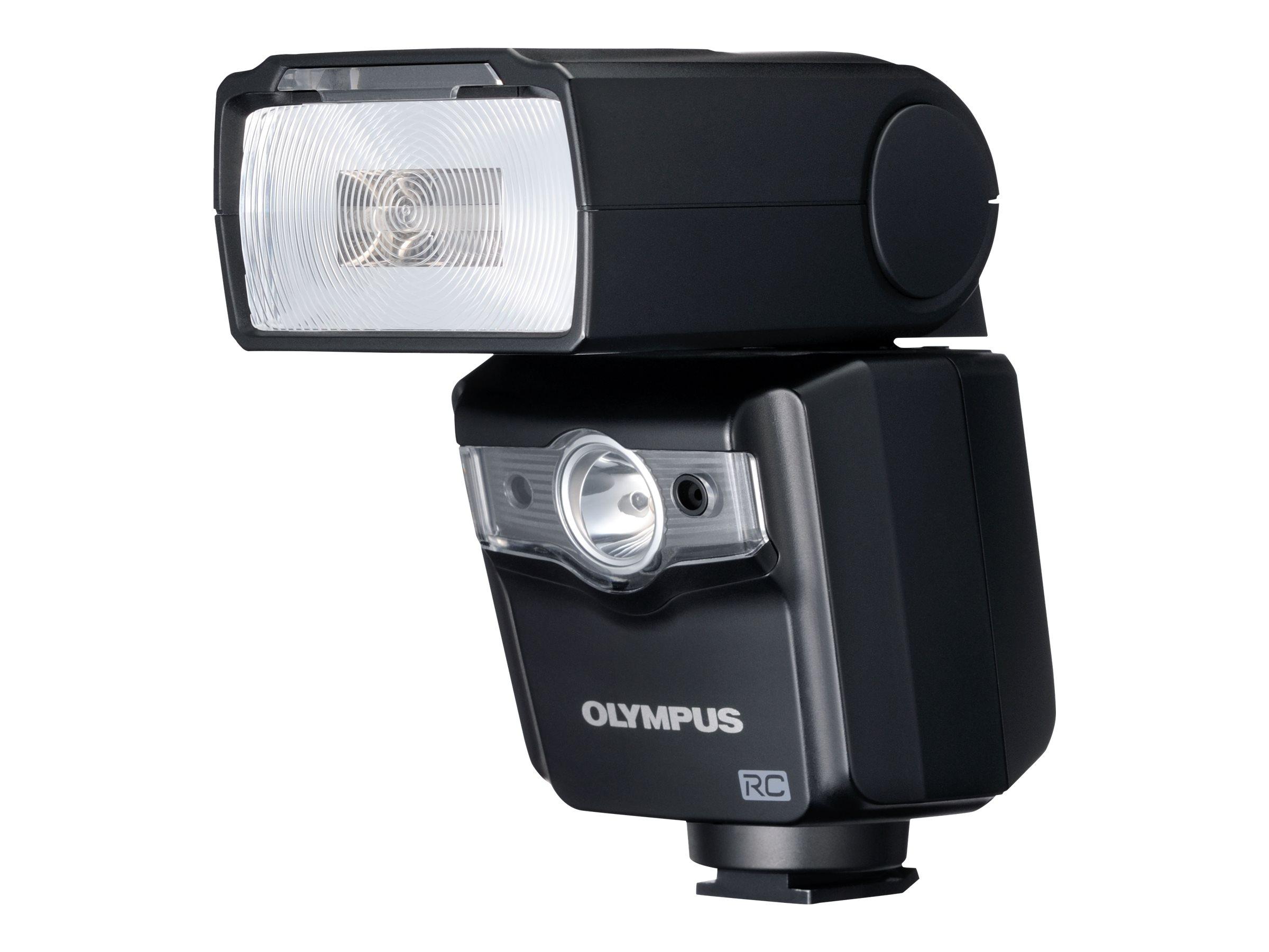Olympus FL-600R - Blitzgerät - 36 (m) - für Olympus PEN-F; OM-D E-M1, E-M10, EM-5, E-M5; PEN E-PL6, E-PL7, E-PL9, E-PM2; Stylus