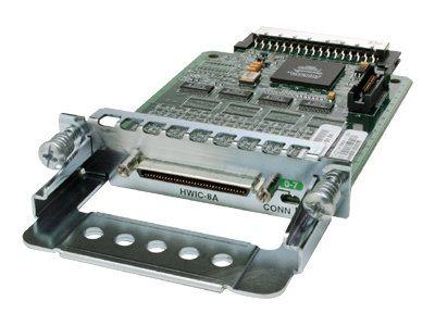 Cisco High-Speed - Erweiterungsmodul - RS-232 x 8 - für Cisco 18XX, 1921 4-pair, 1921 ADSL2+, 19XX, 28XX, 29XX, 3845 V3PN, 38XX,