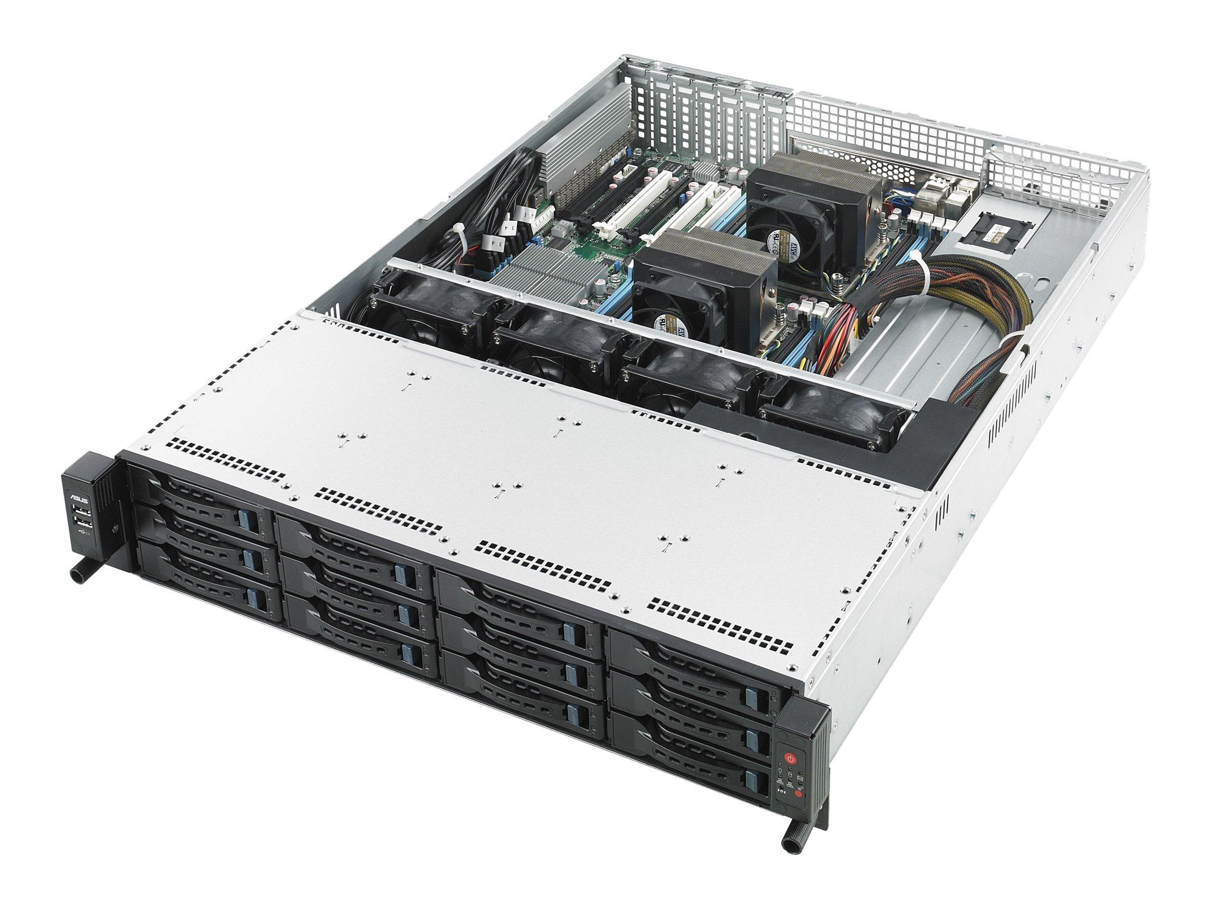 ASUS RS720-E7/RS12-E - Server - Rack-Montage - 2U - zweiweg - RAM 0 MB