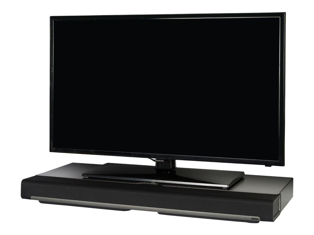 Flexson FLXPBST1021 - Aufstellung für Plasma/LCD/TV - Stahl - metallisch schwarz - für Sonos PLAYBAR