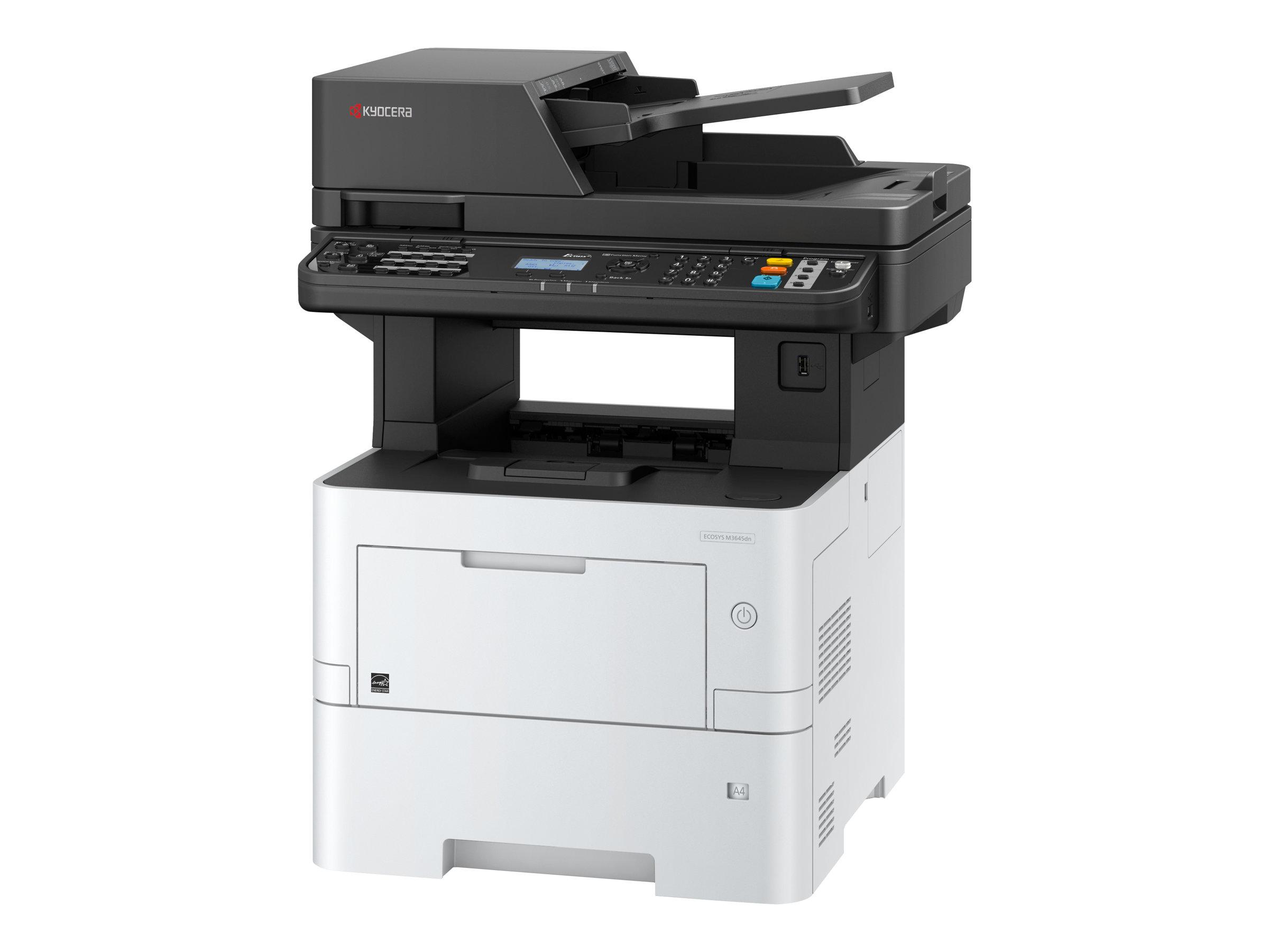 Kyocera ECOSYS M3645dn - Multifunktionsdrucker - s/w - Laser - A4 (210 x 297 mm), Legal (216 x 356 mm) (Original) - A4/Legal (Me