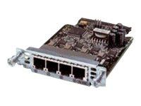 Cisco - Sprach- / Faxmodul - Analogsteckplätze: 4 - für Cisco 28XX, 28XX 2-pair, 28XX 4-pair, 28XX V3PN, 29XX, 38XX, 38XX V3PN,