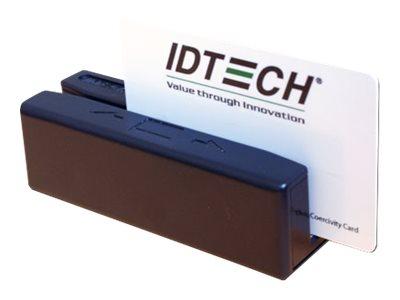 ID TECH SecureMag Encrypted MagStripe Reader - Magnetkartenleser (Spuren 1, 2 & 3) - USB, Tastaturweiche - Schwarz