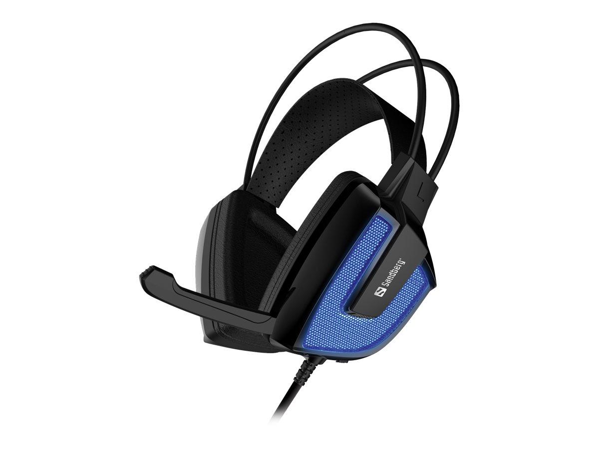 Sandberg Derecho - Headset - Full-Size - kabelgebunden - USB