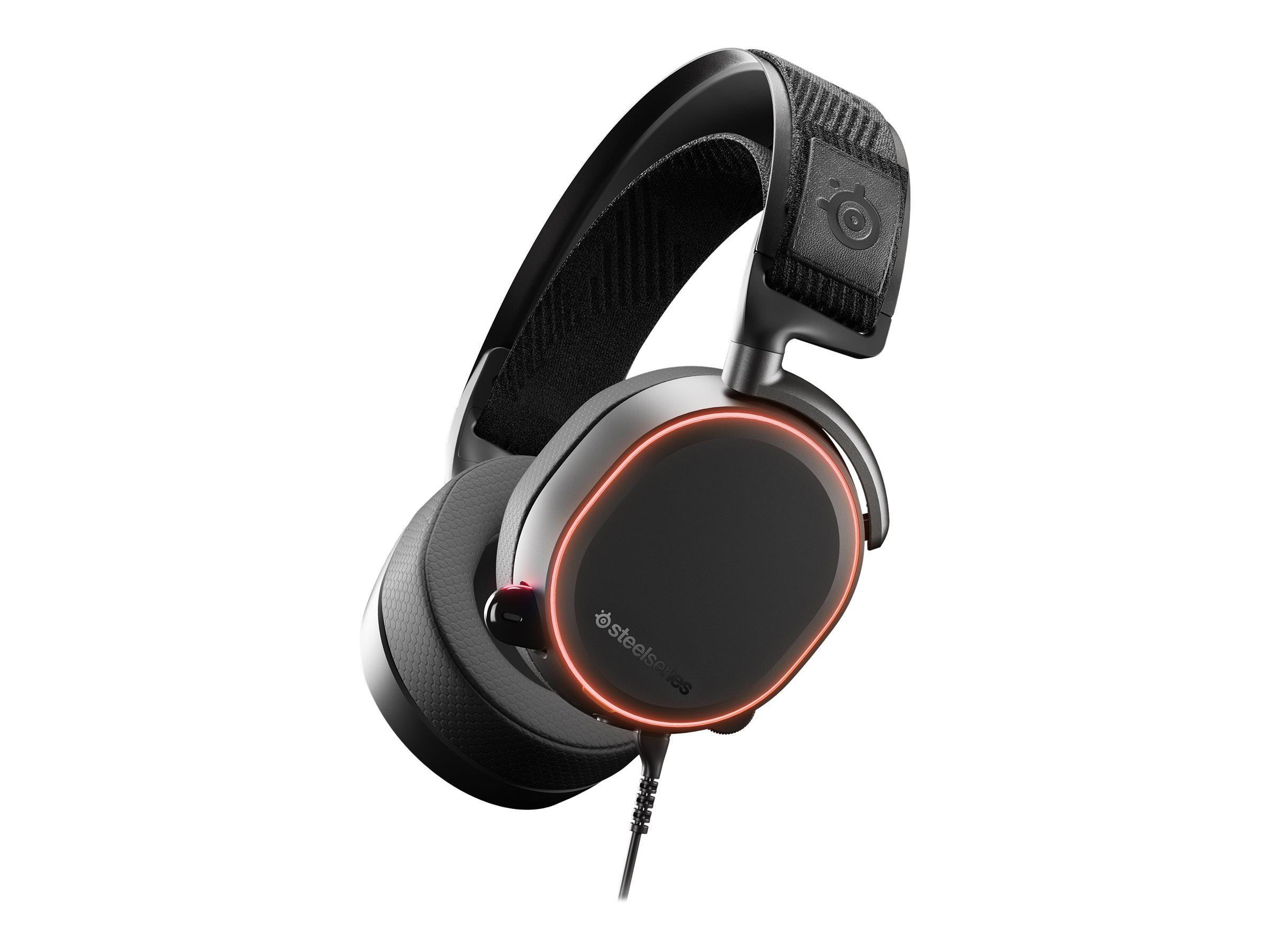 SteelSeries Arctis Pro - Headset - Full-Size - kabelgebunden - USB, 3,5 mm Stecker
