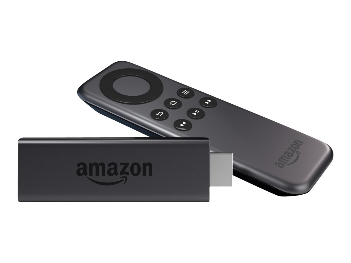 Amazon Fire TV Stick - Digitaler Multimedia-Receiver - Full HD - 8 GB - mit Alexa Voice Remote