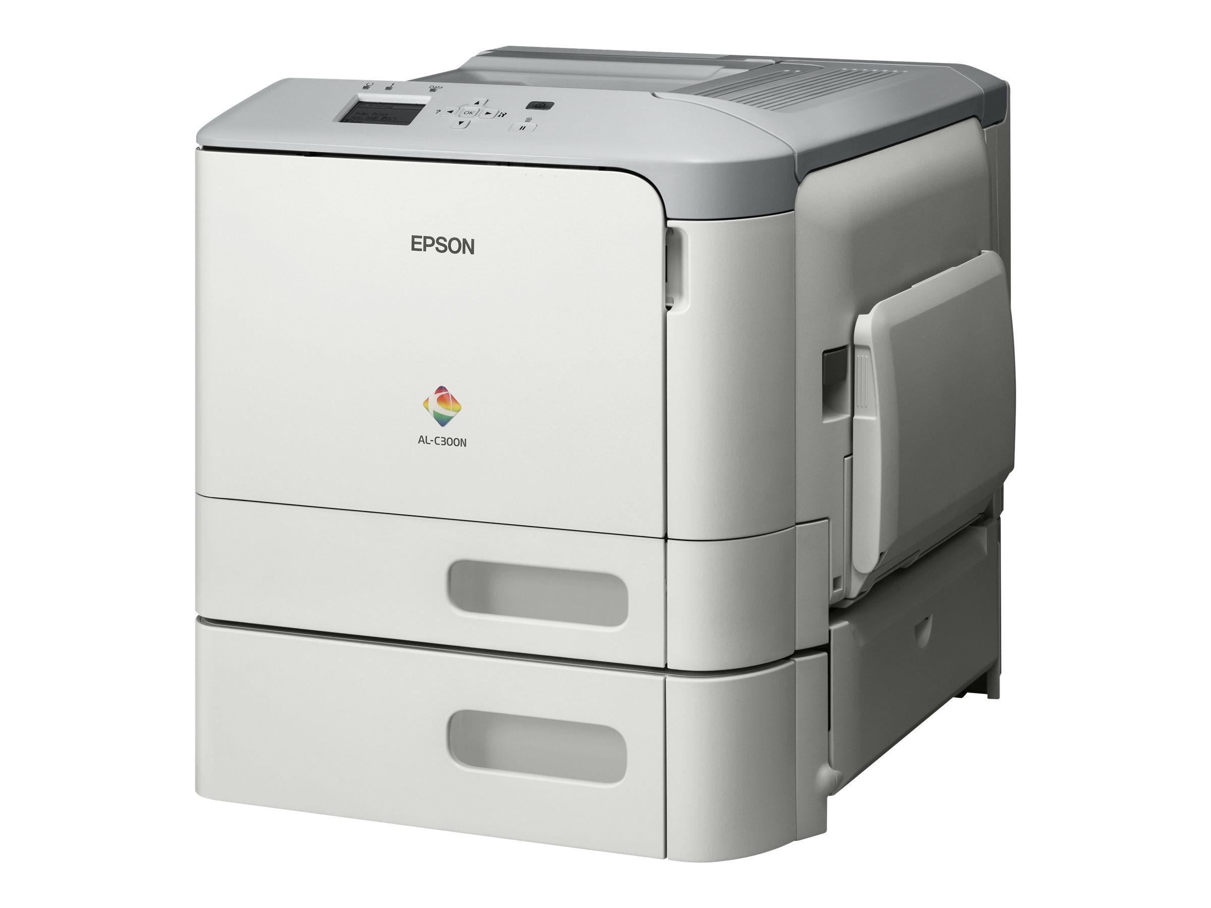 Epson WorkForce AL-C300N - Drucker - Farbe - Laser - A4/Legal - 1200 x 1200 dpi