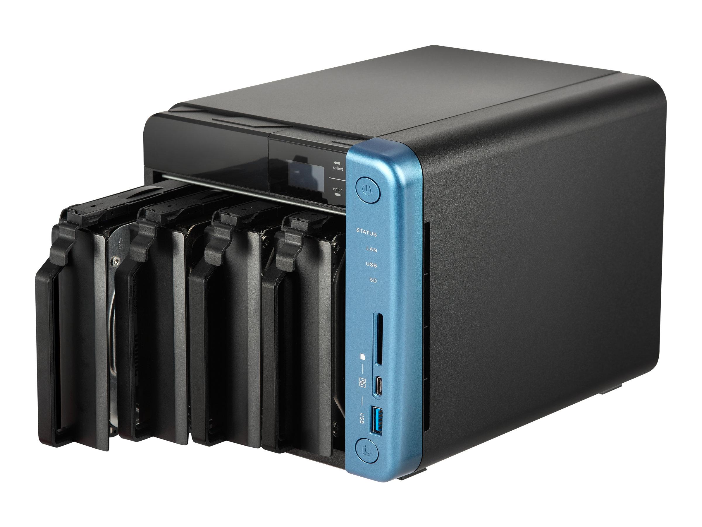 QNAP TS-453B - NAS-Server - 4 Schächte - SATA 6Gb/s - RAM 8 GB - Gigabit Ethernet