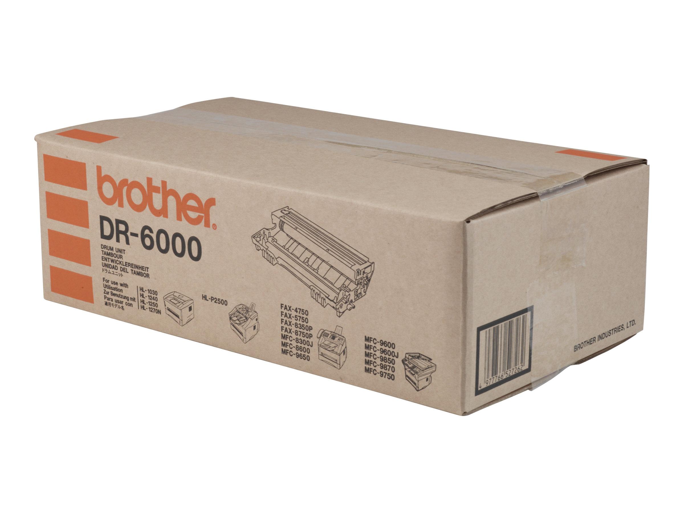 Brother DR6000 - Trommel-Kit - für Brother HL-1030, 1230, 1240, 1250, 1270, 1430, 1440, 1450, 1470, P2500, MFC-8300, 9600