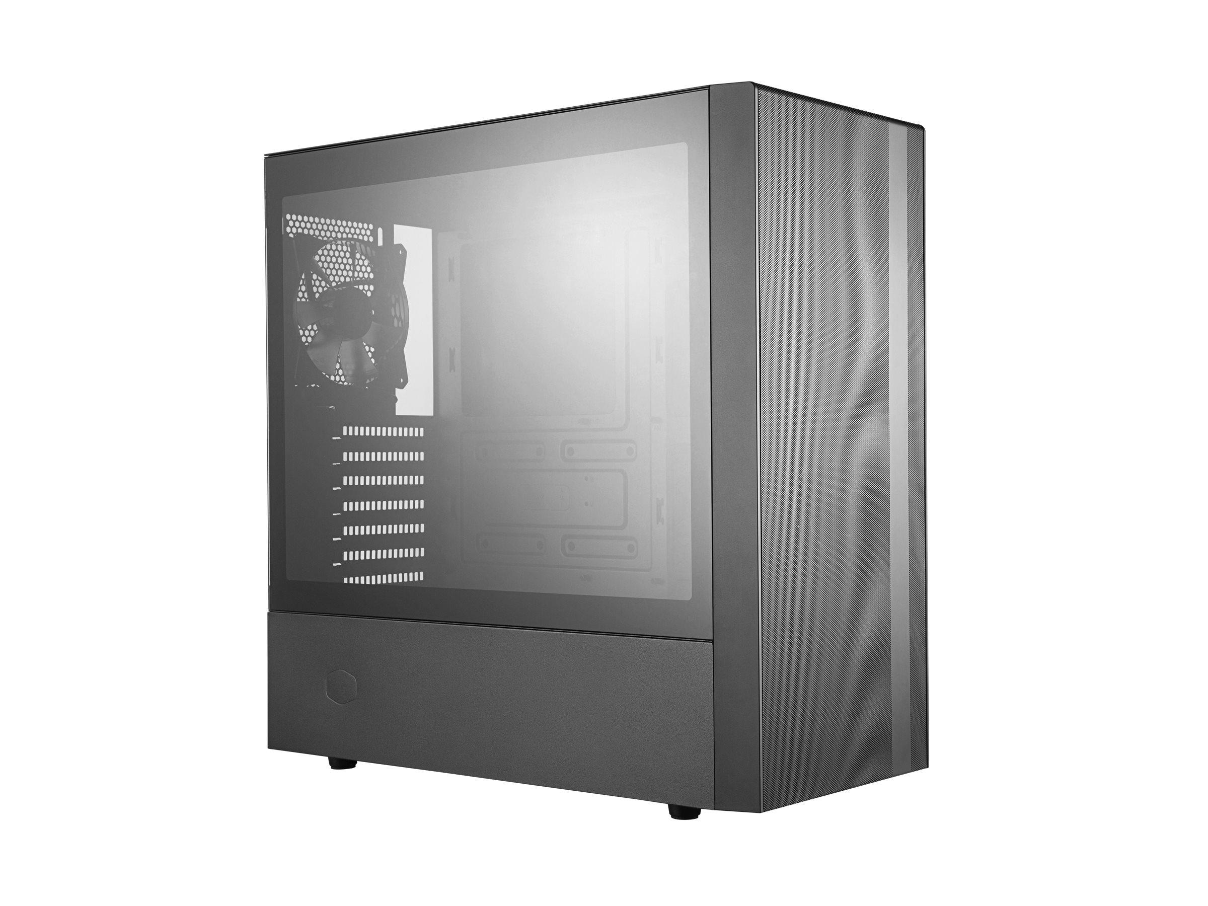Cooler Master MasterBox NR600 - Tower - ATX - ohne Netzteil (ATX) - Schwarz - USB/Audio
