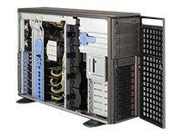 Supermicro SC747 BTQ-R1K62B - Tower - 4U - SATA/SAS - Hot-Swap 1620 Watt