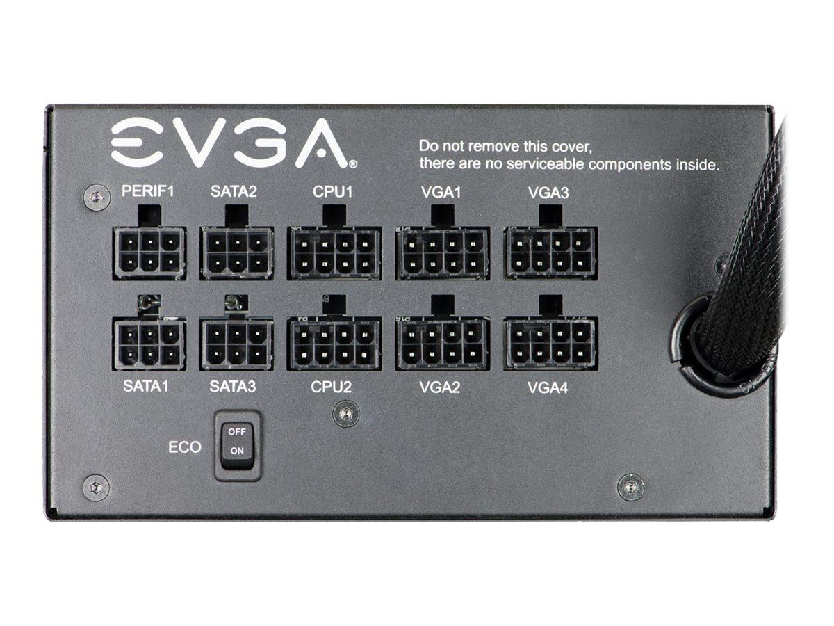 EVGA 850 GQ - Stromversorgung (intern) - ATX - 80 PLUS Gold - Wechselstrom 100-240 V - 850 Watt