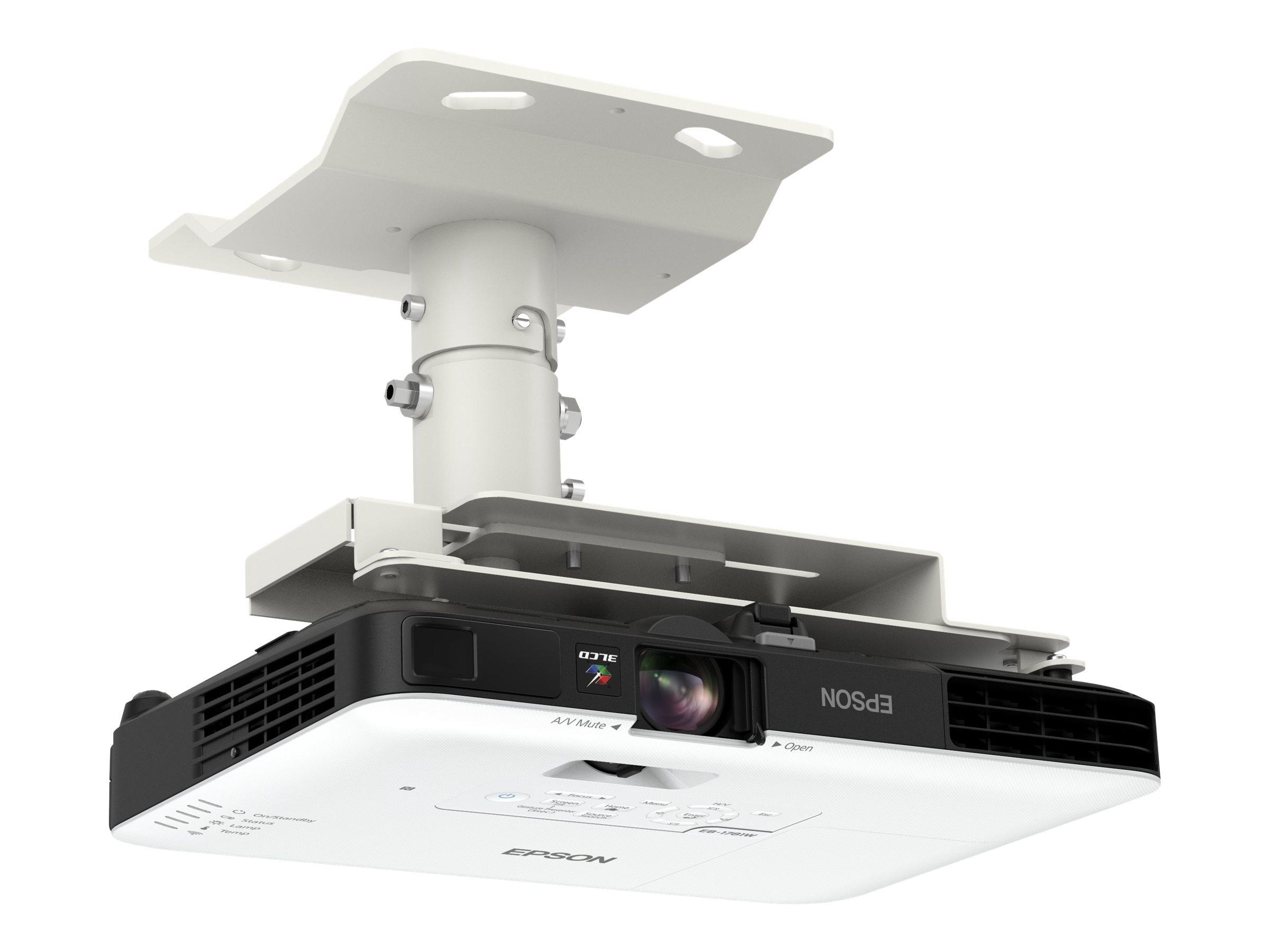 Epson EB-1781W - 3-LCD-Projektor - tragbar - 3200 lm (weiss) - 3200 lm (Farbe) - WXGA (1280 x 800)