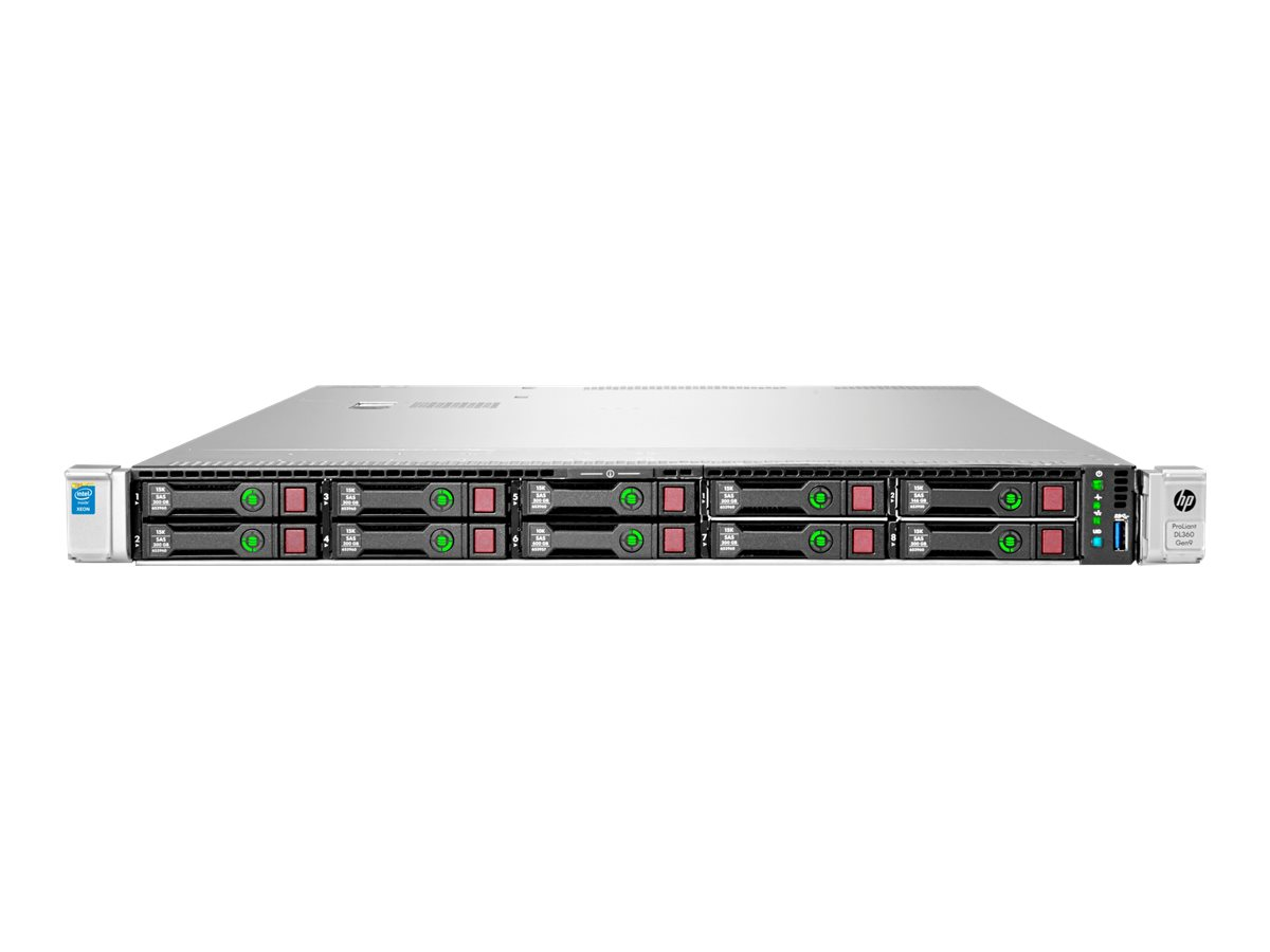 HPE ProLiant DL360 Gen9 Performance - Server - Rack-Montage - 1U - zweiweg - 2 x Xeon E5-2660V4 / 2 GHz