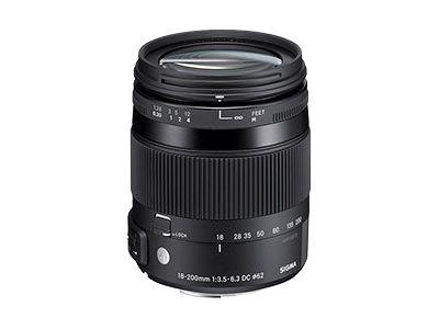 Sigma Contemporary - Zoomobjektiv - 18 mm - 200 mm - f/3.5-6.3 DC Macro HSM - Pentax K
