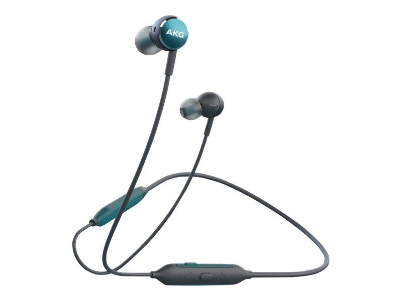 AKG Y100 - Ohrhörer mit Mikrofon - im Ohr - Bluetooth - kabellos - grün