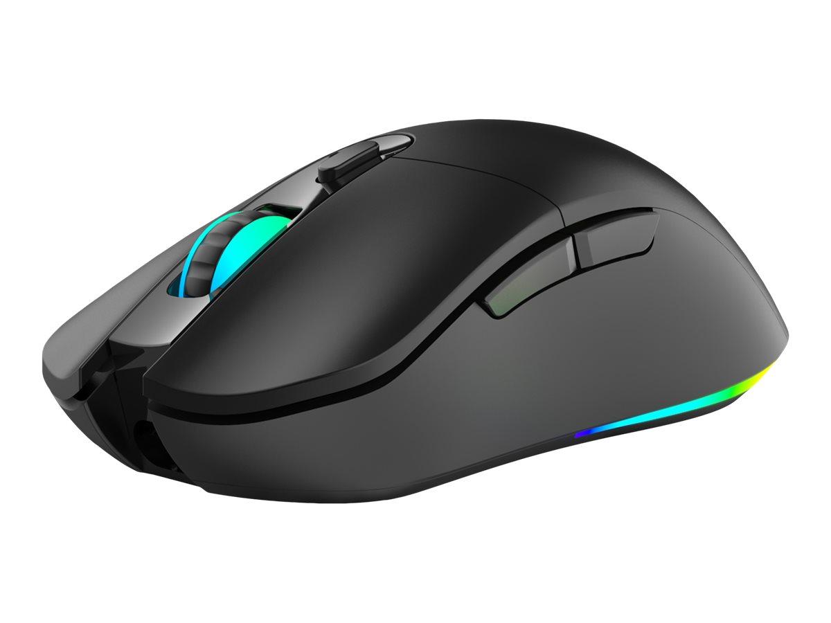 Sandberg Wireless Sniper Mouse 2 - Maus - 6 Tasten - kabellos, kabelgebunden - 2.4 GHz - kabelloser Empfänger (USB)