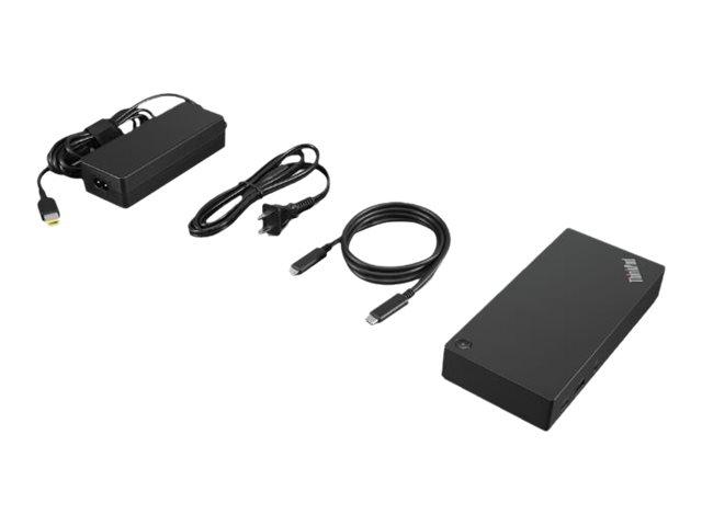 Lenovo ThinkPad USB-C Dock Gen 2 - Dockingstation - USB-C - HDMI, 2 x DP - GigE - 90 Watt