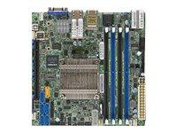 SUPERMICRO X10SDV-12C-TLN4F - Motherboard - Mini-ITX - Intel Xeon D-1557 - USB 3.0 - 2 x 10 Gigabit LAN, 2 x Gigabit LAN