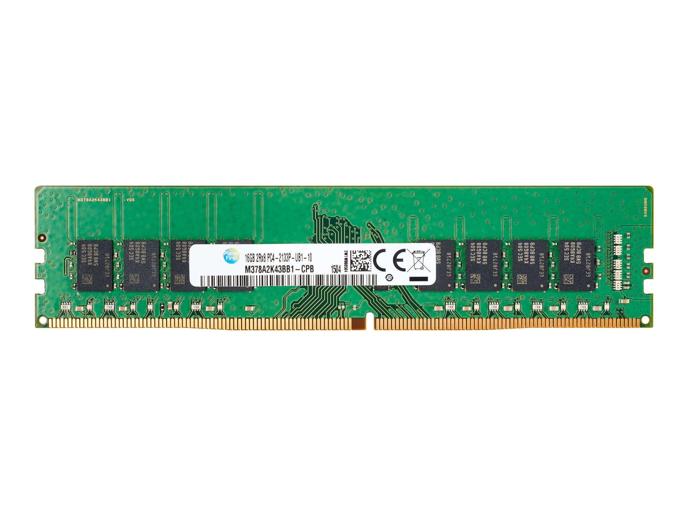 HP - DDR4 - 4 GB - DIMM 288-PIN - 2400 MHz / PC4-19200 - 1.2 V