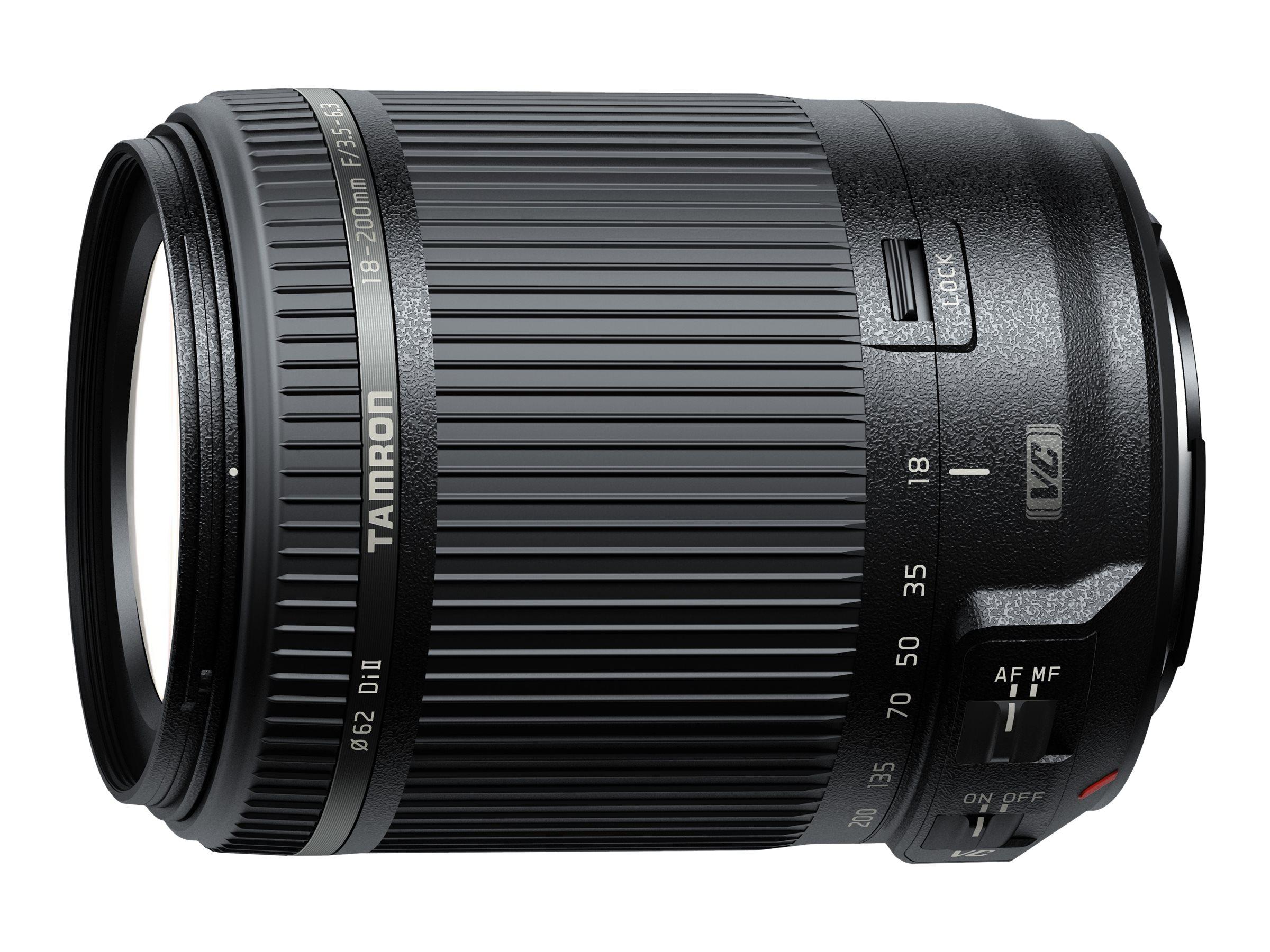 Tamron B018 - Zoomobjektiv - 18 mm - 200 mm - f/3.5-6.3 Di II VC - Nikon F