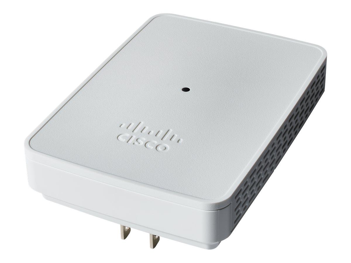 Cisco Business 142ACM Mesh Extender - Wi-Fi-Range-Extender - 802.11ac Wave 2 - Wi-Fi 5 - 2.4 GHz, 5 GHz