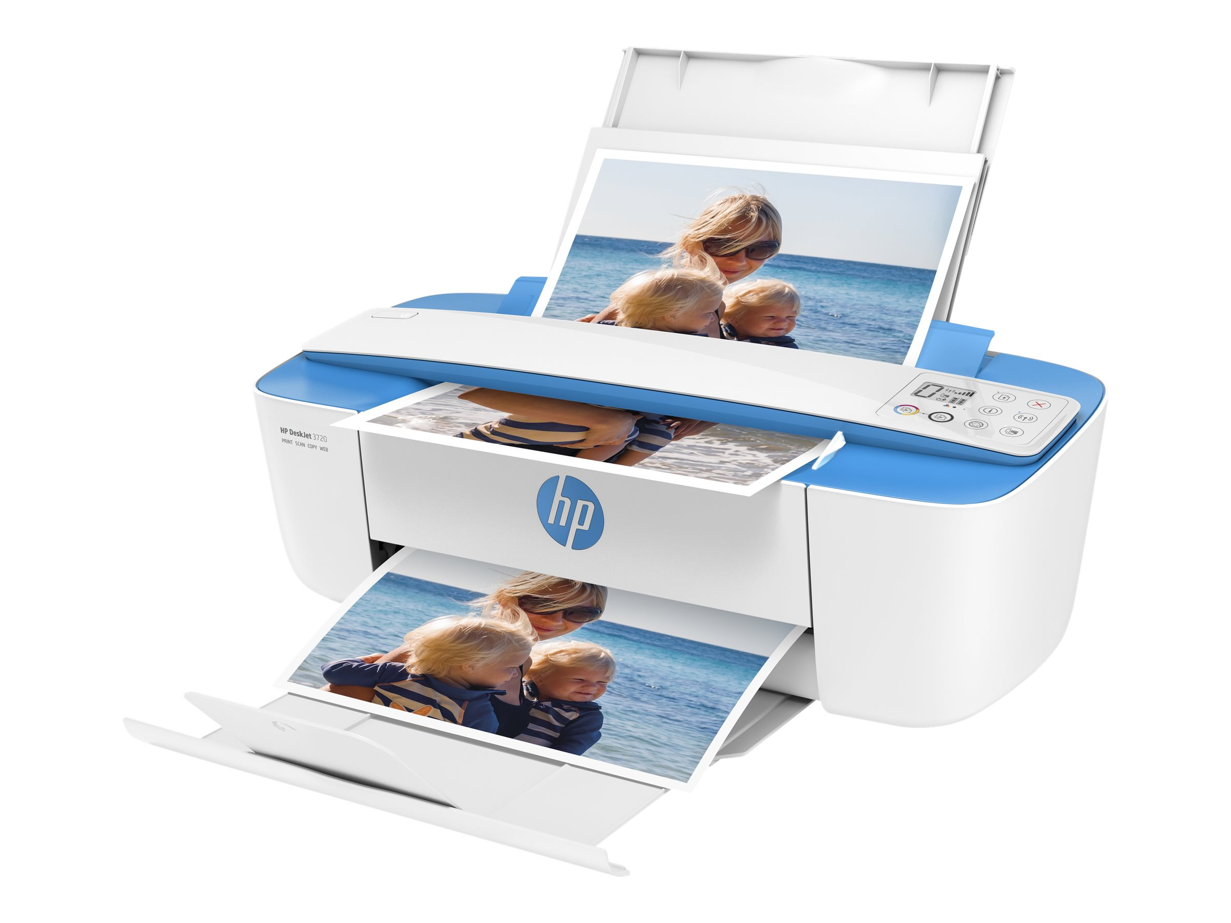 HP Deskjet 3750 All-in-One - Multifunktionsdrucker - Farbe - Tintenstrahl - 216 x 355 mm (Original) - A4/Legal (Medien)