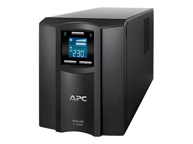 APC Smart-UPS C 1000VA LCD - USV - Wechselstrom 230 V - 600 Watt - 1000 VA - USB