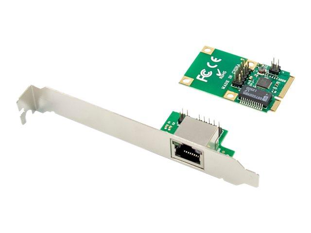 DIGITUS DN-10133 - Netzwerkadapter - PCIe Mini Card Low-Profile - Gigabit Ethernet
