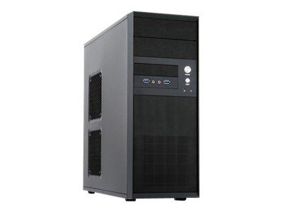 Chieftec Mesh Series CQ-01B-U3 - Tower - ATX - ohne Netzteil - Schwarz - USB/Audio