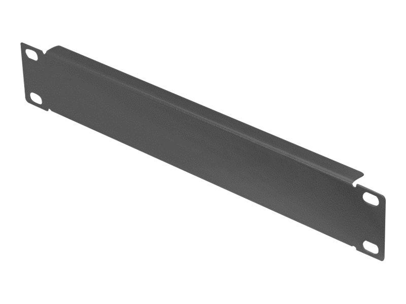 Digitus DN-10-BPN-01-B - Blindabdeckung - Schwarz, RAL 9005 - 1U - 25.4 cm (10