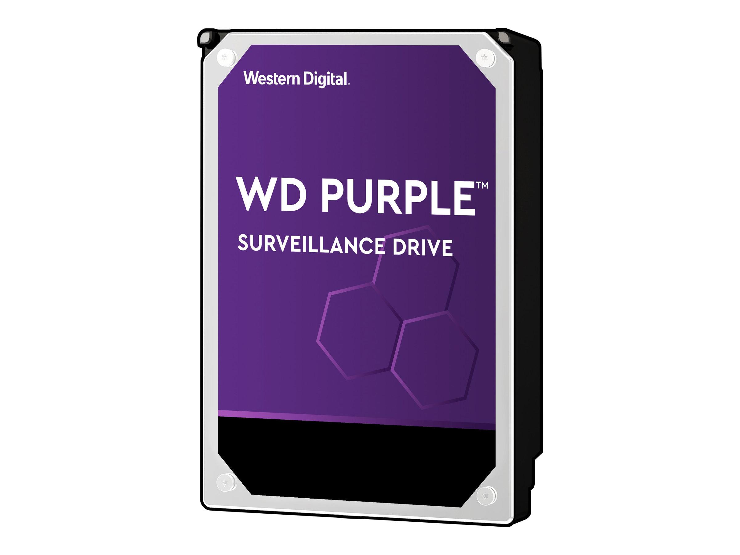 WD Purple Surveillance Hard Drive WD102PURZ - Festplatte - 10 TB - intern - 3.5