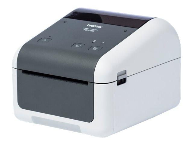 Brother TD-4410D - Etikettendrucker - Thermopapier - Rolle (11,8 cm) - 203 x 203 dpi - bis zu 203.2 mm/Sek.
