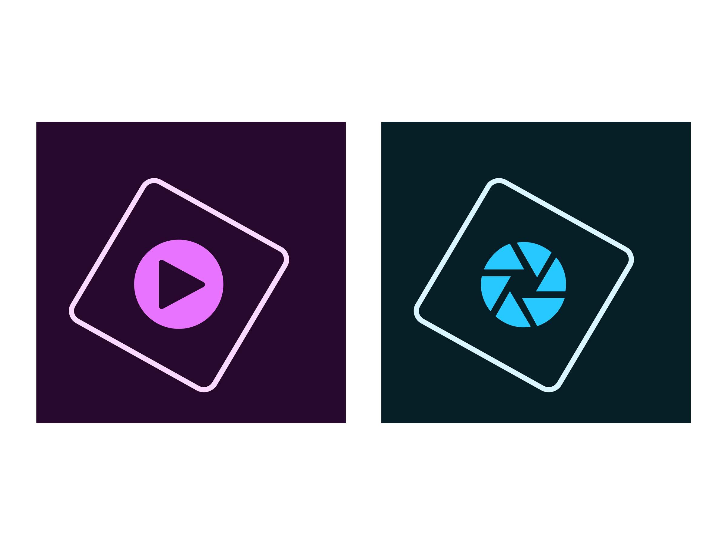 Adobe Photoshop Elements 2019 & Premiere Elements 2019 - Box-Pack - 1 Benutzer - Win - Italienisch