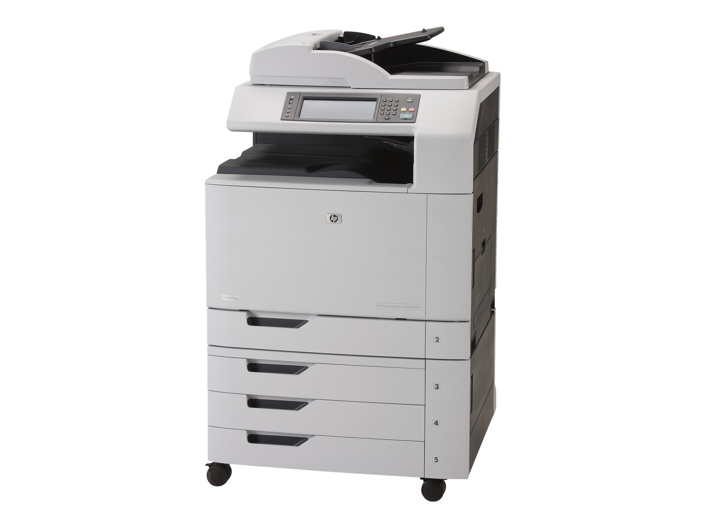 HP Color LaserJet CM6040f MFP - Multifunktionsdrucker - Farbe - Laser - A3/Ledger (297 x 432 mm) (Original) - A3/Ledger (Medien)