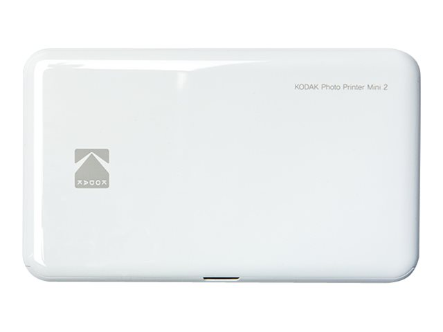 Kodak Photo Printer Mini 2 - Drucker - Farbe - Thermosublimation - 53.3 x 86.4 mm - Bluetooth, NFC