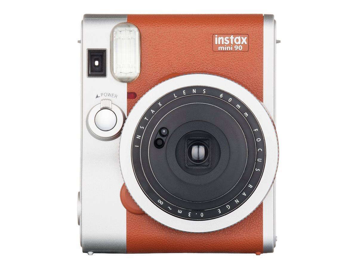 Fujifilm Instax Mini 90 NEO CLASSIC - Instant Kamera - Objektiv: 60 mm braun