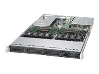 Supermicro SuperServer 6018U-TRT+ - Server - Rack-Montage - 1U - zweiweg - RAM 0 MB
