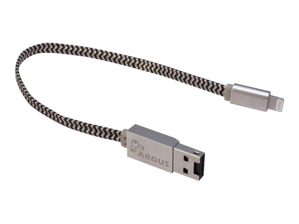 Argus R-001 - Kartenleser (TransFlash, microSD, microSDHC, microSDXC) - Lightning/USB 2.0