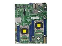 SUPERMICRO X10DRD-LTP - Motherboard - Erweitertes ATX - LGA2011-v3-Sockel - 2 Unterstützte CPUs - C612