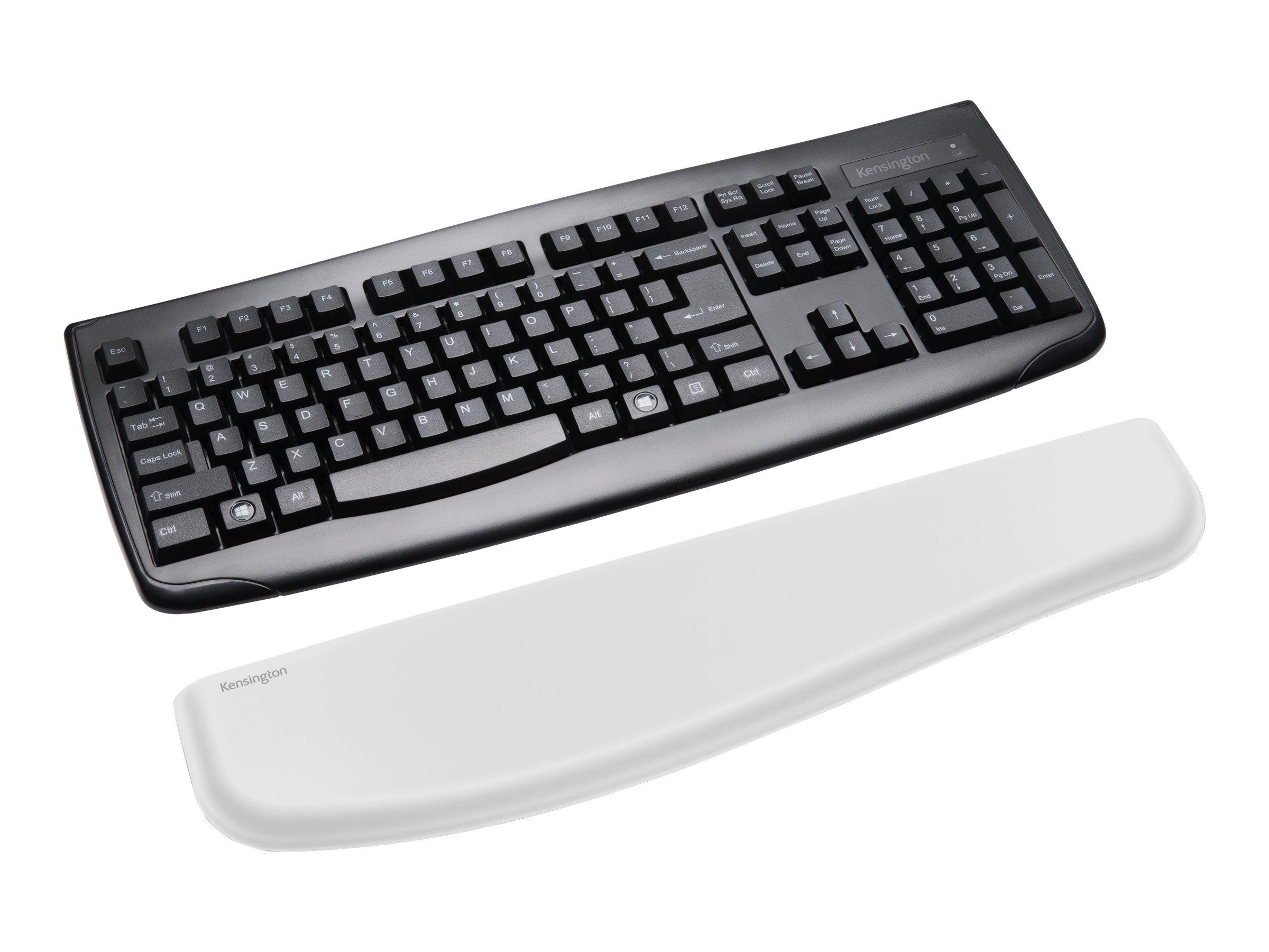 Kensington ErgoSoft Wrist Rest for Standard Keyboards - Tastatur-Handgelenkauflage - Grau