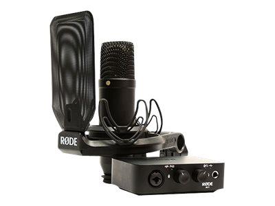 RØDE Complete Studio Kit, AI-1 - Audio-Schnittstelle - 24-Bit - 96 kHz - Stereo - USB-C
