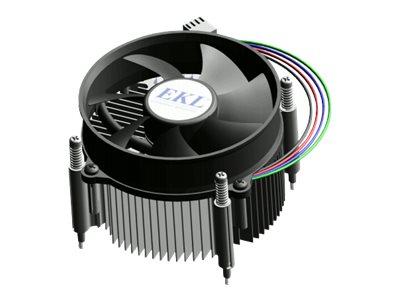 EKL - Prozessor-Luftkühler - (für: LGA1156, LGA1155, LGA1150) - 92 mm