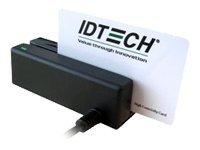 ID TECH MiniMag Intelligent Swipe Reader IDMB-3321 - Magnetkartenleser (Spuren 1, 2 & 3) - RS-232 - Schwarz