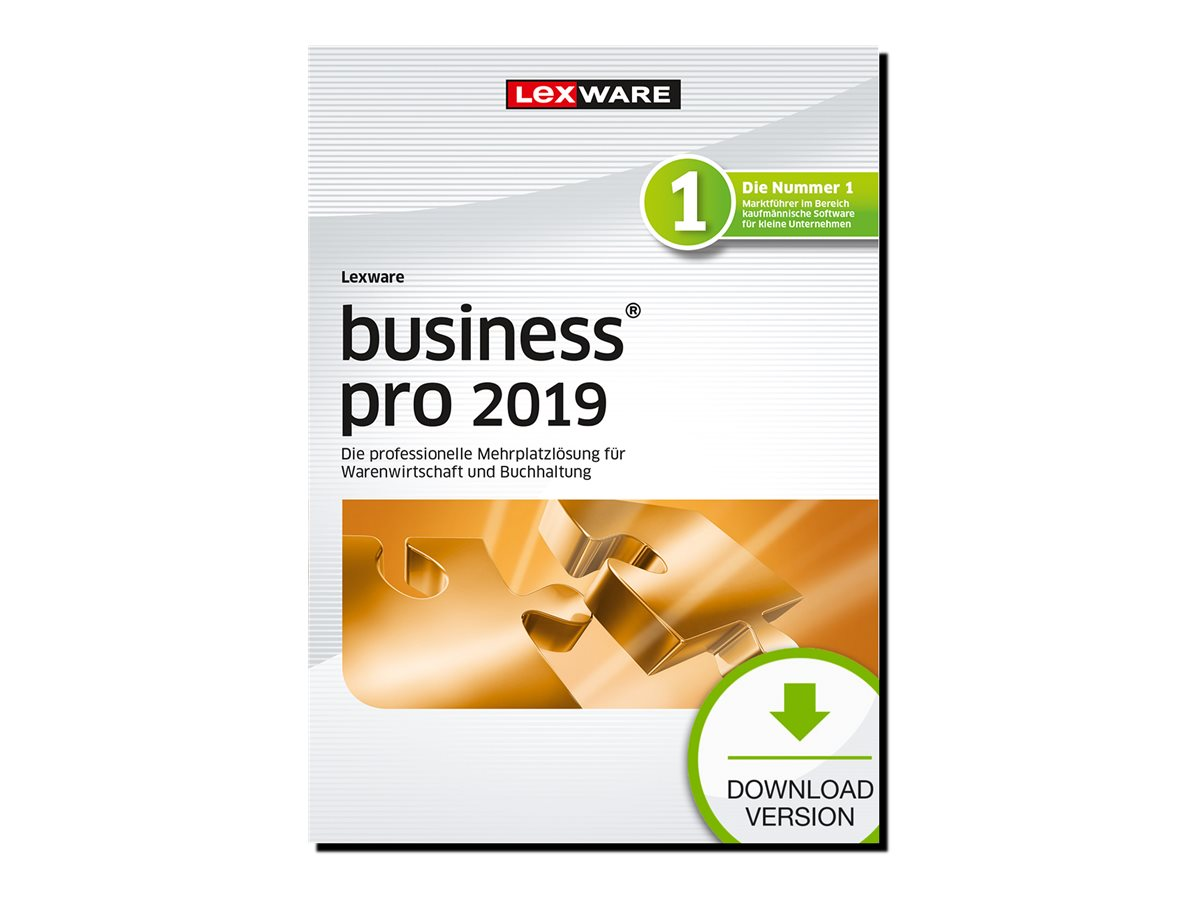 Lexware business pro 2019 - Abonnement-Lizenz (1 Jahr) - 1 Benutzer - Download - ESD - Deutsch