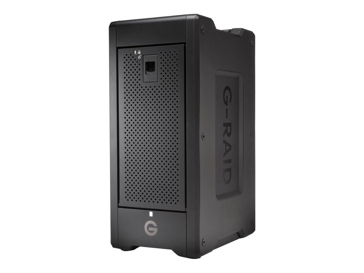 SanDisk Professional G-RAID SHUTTLE 8 - Festplatten-Array - 144 TB - 8 Schächte - HDD 18 TB x 8 - Thunderbolt 3, USB 3.2 Gen 2 (