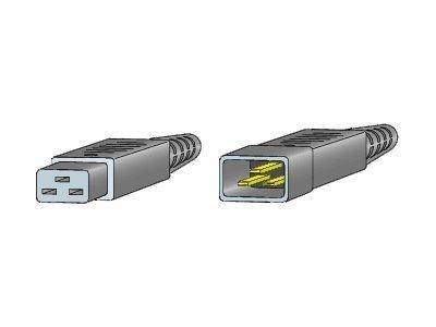 Cisco Jumper - Stromkabel - IEC 60320 C20 bis IEC 60320 C19 - Wechselstrom 250 V - 2.74 m - für P/N: MDS-9506